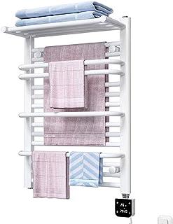 Radiador de toallero, estante de toallas de calefacción eléctrica, temperatura constante inteligente, estante de baño doméstico, acero con poco carbono, 350W, 690 * 500 mm, estante de secado Diseño