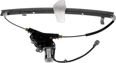 Dorman 748-981 Rear Passenger Side Power Window Motor and Regulator Assembly for Select Nissan Models