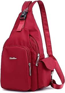 Yogwoo Backpack for Men Women Travel Backpack Crossbody Bag Waterproof Anti-Theft