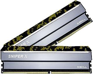 G.Skill SniperX F4-3600C19D-16GSXKB (DDR4-3600 8GB×2)