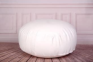 Newborn Studio Props Posing Bean Bag for Newborn Photography 33in. diameter (unfilled)
