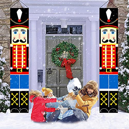 LAUJOY Nutcracker Christmas Decorations - Outdoor Xmas Decor - Life...