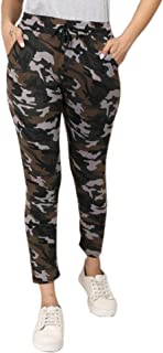 DTR FASHION Women's Camoflauge Printed Jegging_Jogger pant For Women_CAMOREAL