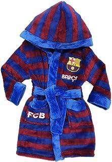 b8e474a7d9744 GUIZMAX Peignoir Polaire FC Barcelone 4 Ans Robe de Chambre Barca Rouge
