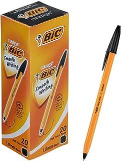 BIC Big Orange Medium EG1.0 black 1.0mm 20 pieces E-ORMJ20EGBLK (japan import)