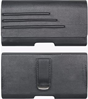 Verizon Universal Vegan Leather Pouch with Belt Clip - Medium (5.7