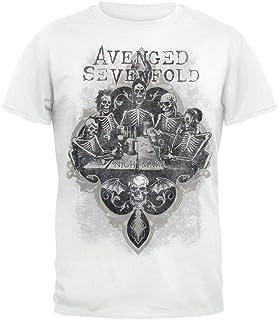 7ee995cf3dc Avenged Sevenfold - Camiseta - Hombre Bottoms Up Uomo (Camiseta)