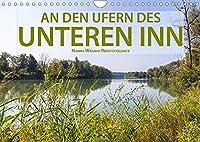 An den Ufern des Unteren Inn (Wandkalender 2022 DIN A4 quer): Hanna Wagner zeigt Impressionen von den Ufern des Unteren Inn zwischen Muehldorf und Passau. (Monatskalender, 14 Seiten )