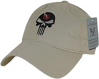 Rapiddominance gorra con diseño con calavera de el Castigador, piedra