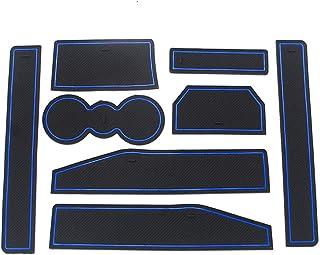 Coupe Porte Int/érieure Tasse Bo/îte de Bras Tapis de Stockage pour 2011-2014 X3 21 pi/èces par Set Blanc Muchkey Tapis Anti-poussi/ère Antid/érapante