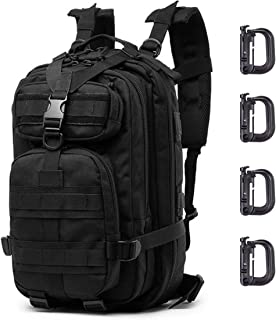 ATBP Hiking Backpack Military Tactical Molle Backpack 25L Anti Theft Backpack Hunting Daypack Hydration Backpack for Outdoor Camping Trekking