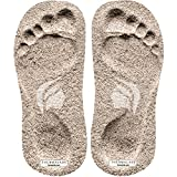 Thermalabs Sticky Foam Feet Pads for Self Tanning, 50 Pairs of Disposable Strapless Stick on Sole Protector Tanning Foot Pad for Spray Tan or Spray Tanning Tent, Ideal for Sunless Tan, 100 Units