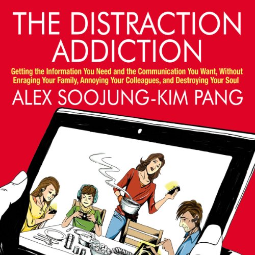 The Distraction Addiction audiobook cover art