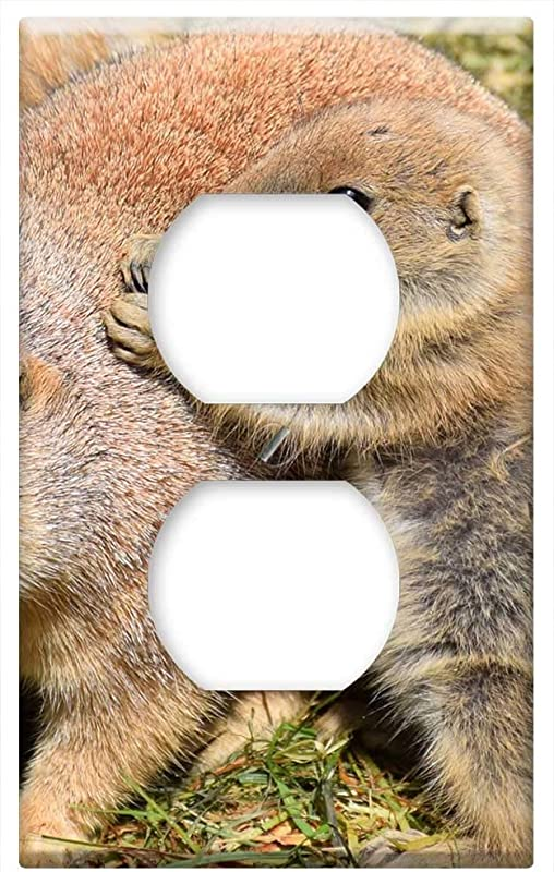 Switch Plate Outlet Cover Animal Baby Zoo Cute Sweet Fur Mammal Small