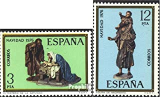 Spain 2261-2262 (Complete.Issue.) 1976 Christmas (Stamps for Collectors) Christmas