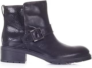 2692G tronchetto donna nero HOGAN H238 ZIP INTERNA T PELLE scarpa stivale boots