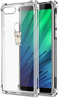 Oihxse Compatible with Xiaomi Redmi GO Case Clear [Air Cushion] Shockproof TPU Bumper Back Cover, Ultra Thin Slim Fit Cute Design Soft Silicone Crystal Gel Transparent Phone Shell Skin-Koala