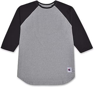 Mens Big and Tall Raglan Baseball T Shirt