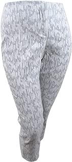 Alfani Plus Size Jacquard Ankle Pants