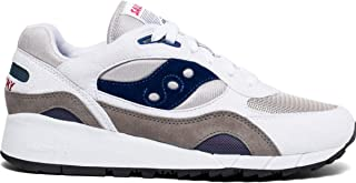 Men's Shadow 6000 Sneaker, White/Grey/Navy, 9.5 M US