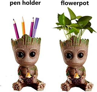 Baby Groot Planter Pot Succulents Flowerpot Groot Guardians of The Galaxy-Action Figure for Plants & pens Holder- Perfect as a Gift - I AM Groot