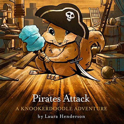 Pirates Attack audiobook cover art