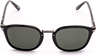 Persol Men's PO3186S9531 Black Acetate Sunglasses