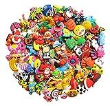 100 Stück PVC verschiedene Schuh-Charms passend für Schuhe, Dekorationen, Armbänder, Party-Geschenk