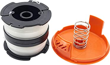 Sponsored Ad – Unique Corn AF-100 Strimmer Line Compatible with Black & Decker, Line String Trimmer Spool with Cap Replace...