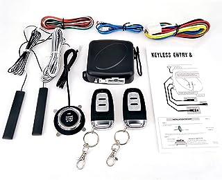 mewmewcat Interruptor de SUV de carro de 9 peças Entrada sem chave, motor de partida, sistema de alarme, botão de partida ...