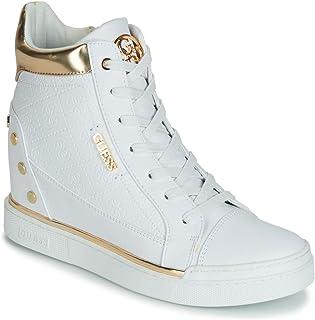 0bcb96e357 GUESS Zapatos Mujer Zapatillas Altas con cuña Interna FL5FNLFAL12 Bianco