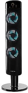 3 velocit/à Oscillazione Automatica a 80/°//Manuale a 360/° Timer di Spegnimento: 8h 45 W Risparmio Energetico Fino a 500m/³//h 4 modalit/à Antracite KLARSTEIN Twister Ventilatore a Torre