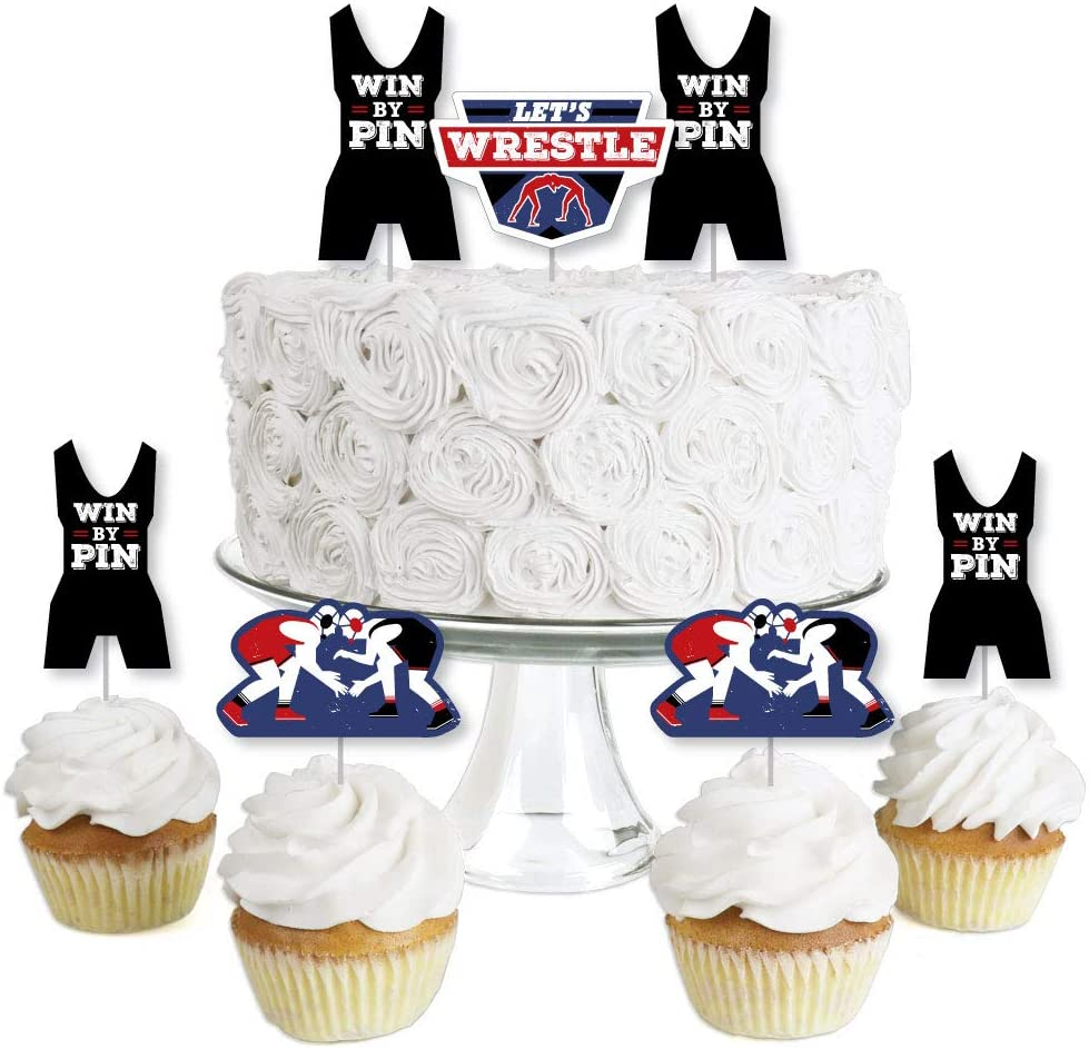 Big Dot of Happiness Beauty products Own the Dessert Wrestling Mat Inexpensive T - Cupcake