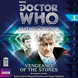 Doctor Who - Destiny of the Doctor - Vengeance of the Stones cover art