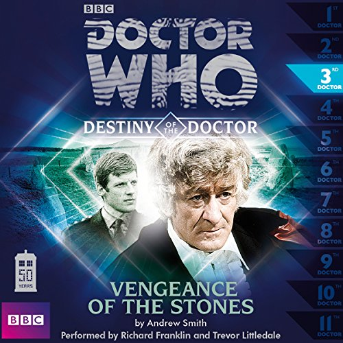 Doctor Who - Destiny of the Doctor - Vengeance of the Stones audiobook cover art