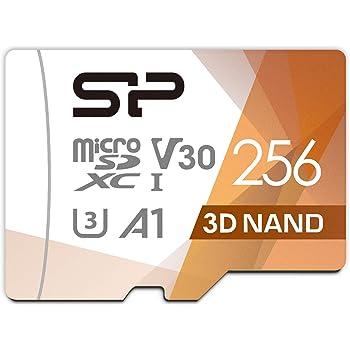 シリコンパワー microSD カード 256GB class10 UHS-1 U3 対応 最大読込100MB/s 4K対応 Nintendo Switch 動作確認済 3D Nand