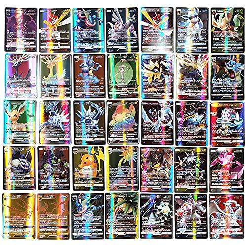 Pokémon Carte Francais Coffret Shiny Display Cartes Pokemon Rare Deck ,20 Energy et 10 Trainer et 170 Gx