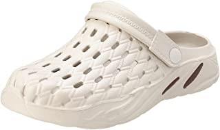 Al Nasr Perforated Upper Ribbed Sole Clogs for Men