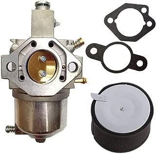 15003-2589 Carburetor with 11029-1004 Air Filter for Kawasaki KAF300 Mule Mule 520 550 by TOPEMAI