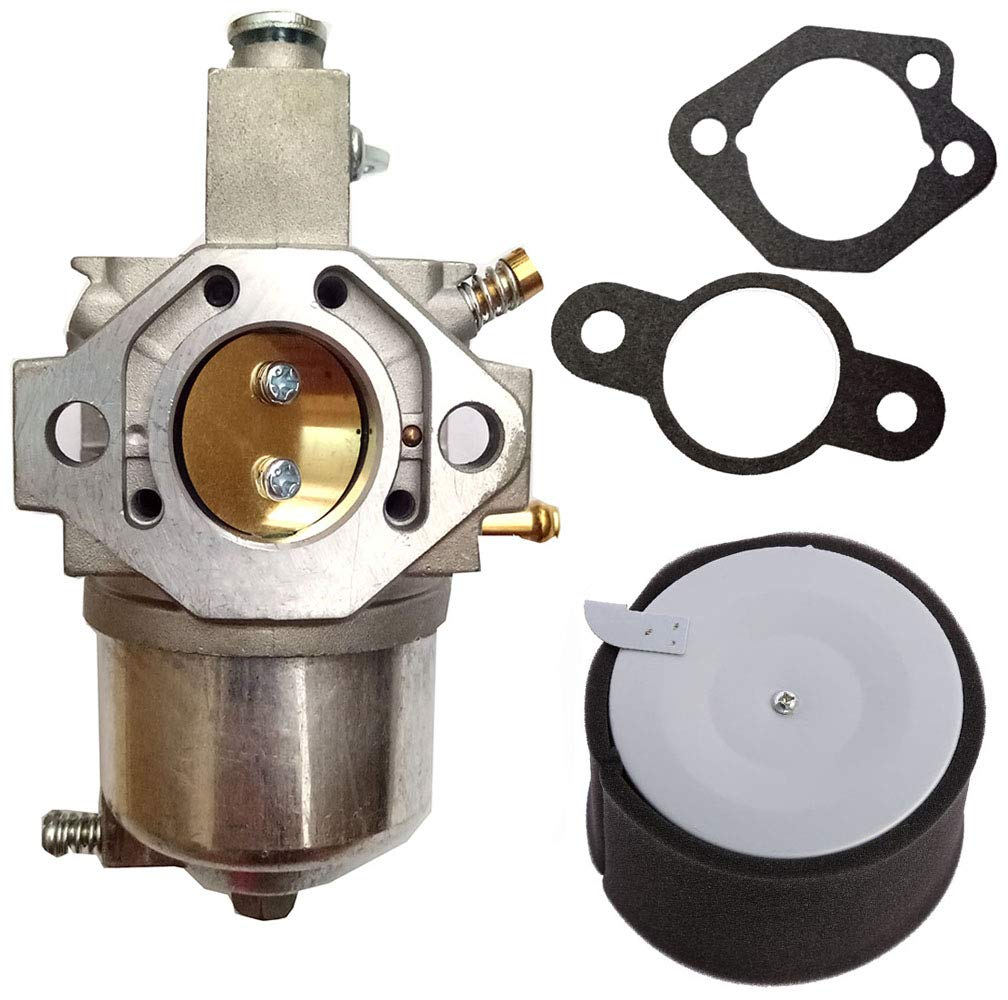 HIFROM 11029-1004 Air Pre Filter with 49065-2071 Oil Filter 49040-2067 Fuel Pump 49019-1055 Fuel Filter Spark Plug Fit For Kawasaki KAF300 Engine Mule 500 520 550
