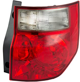 Passengers Taillight Tail Lamp with Bright Red Lens Replacement for Honda 33501SCVA01 AutoAndArt