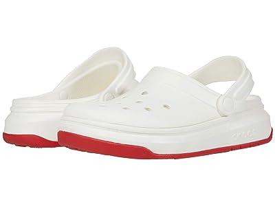 Crocs Crocband Full Force Clog (White) Clog Shoes