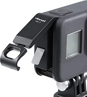 ULANZI G8-7 Battery Lid Replacement Mount for GoPro 8, Reserved Hole for GoPro 8 Charging, Battery Cover Accessories