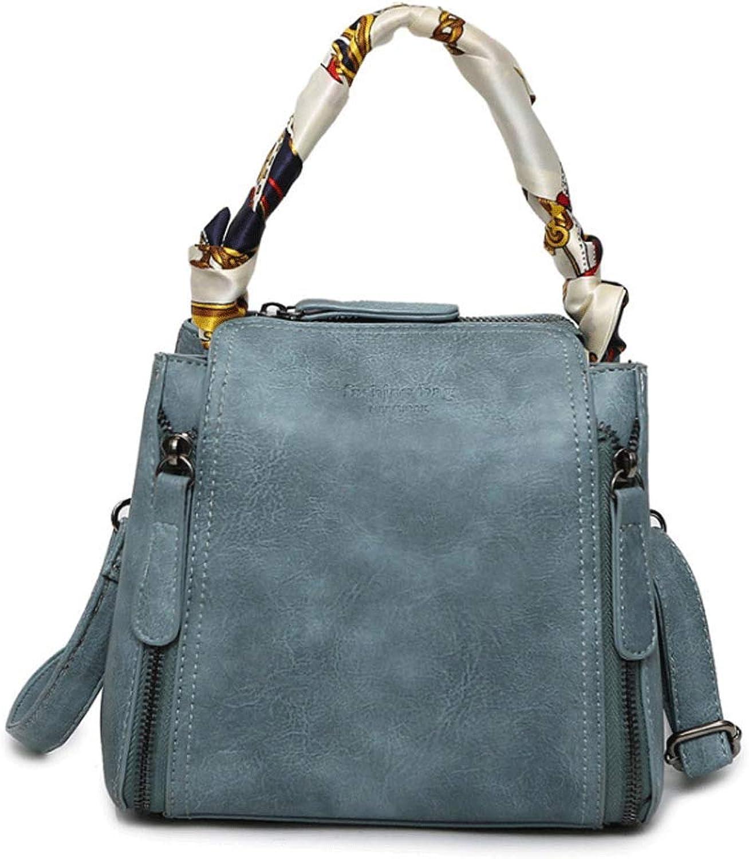 f8c28c3c6ba96 RXF Vintage Lady Handtasche Brief Schulter Messenger Messenger Messenger  Bag (Farbe SCHWARZ