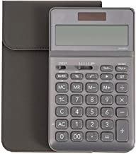 $61 » Style wei Office Calculators Calculator Battery Double Insurance Thick and Durable Business Calculator 12-bit HD Display U...