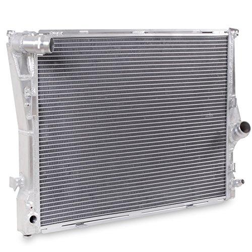 40mm High Flow in alluminio doppio nucleo motore raffreddamento radiatore