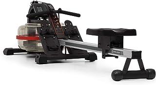 Capital Sports Rowlympic Remoergómetro - Banco de Remo, Pantalla LCD, Riel de Aluminio de 115 cm, Diseño de Almacenamiento Compacto Vertical, Peso soportado 150 kg, Ruedas de Transporte