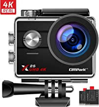 $49 » Campark Action Camera Native 4K Wifi Waterproof Underwater Camera 30M 16MP Photos 170° Wide Angle with GoPro Compatible Accessories