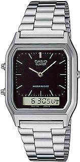 Casio Stainless Steel Black Dial Digital/Analog Watch AQ-230A-1DHDF