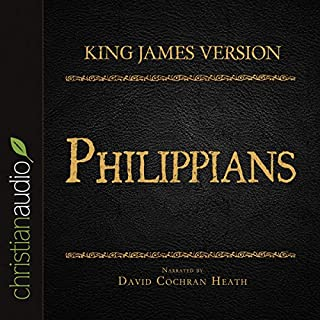 Holy Bible in Audio - King James Version: Philippians audiobook cover art